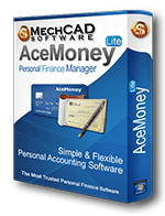 AceMoney Lite Personal Finance Software